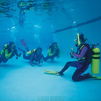 How to learn to dive in Belgium